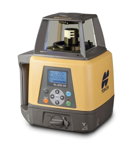 Topcon Rl 200 2s Rechargeable Dual Slope Laser