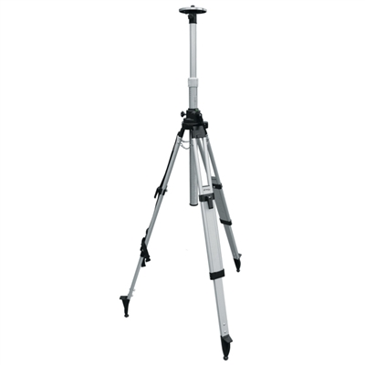 SitePro Aluminum Heavy Duty Elevator Tripod, with Quick Clamp, Black