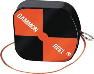 GAMMON REEL BLACK HIGH VIS CONSTRUCTION 12 FT
