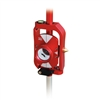 Site Pro Mini Prism Sliding Pole System, Red