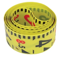 LASERLINE 10'  GR1000T REPLACEMENT TAPE YELLOW/BLACK